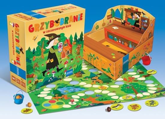 Grzybobranie - klasyczna gra dla najmłodszych.