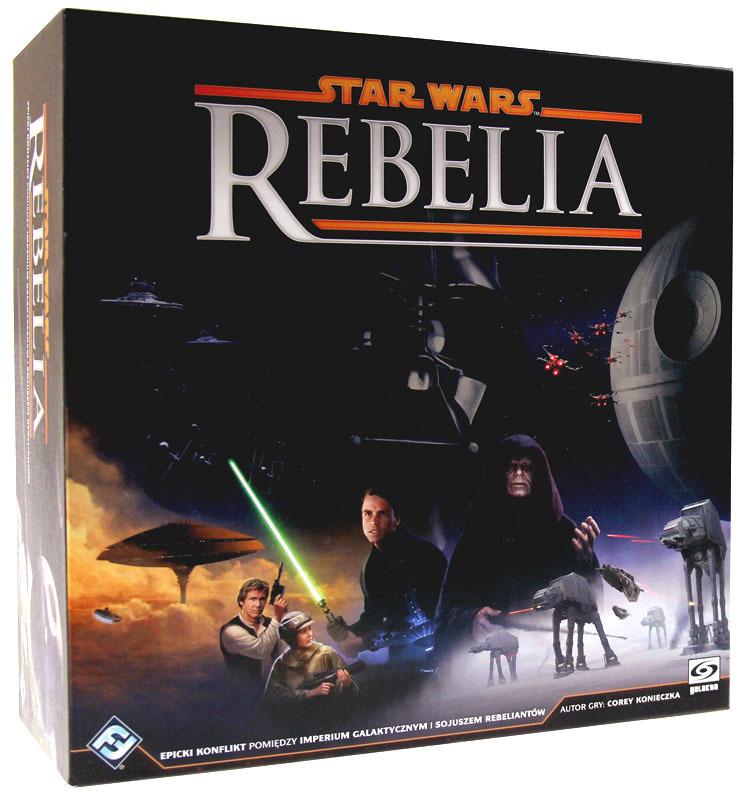 Okładka gry Star Wars: Rebelia