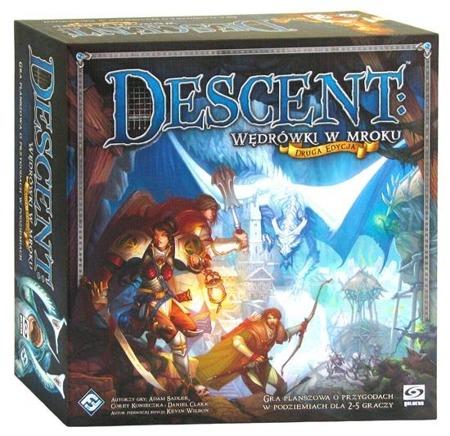 Okładka gry Descent: Wędrówki w mroku.