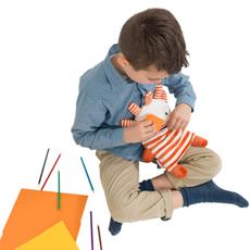 Jak pomaga Smutkozjadek FLINT - Włóż kartkę do buzi Smutkozjadka!