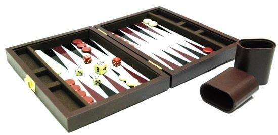 Backgammon gra planszowa
