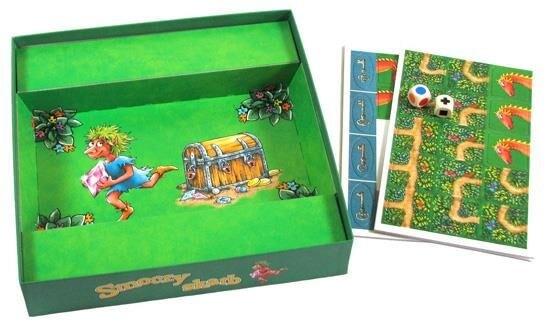 Gra kooperacyjna Smoczy skarb - zawartość pudełka