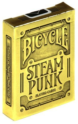 Karty Steampunk Gold (Premium) (Bicycle)