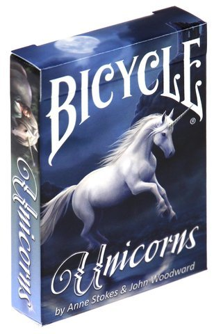 Karty Unicorns (Anne Stokes) (Bicycle)