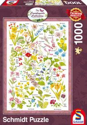 PQ Puzzle 1000 el. COUNTRYSIDE ART Dzikie kwiaty