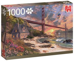 Puzzle 1000 el. PC Most Golden Gate / San Francisco