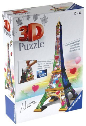 Puzzle 3D - Wieża Eiffla (Limited Edition)