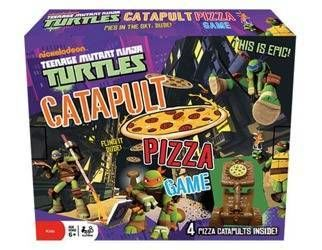 Turtles: Catapult Pizza Game