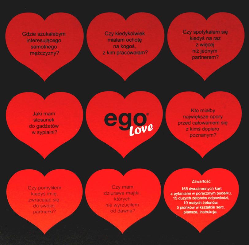 Ego Love Sklep Gryplanszowepl Gry Planszowe Imprezowe Cena