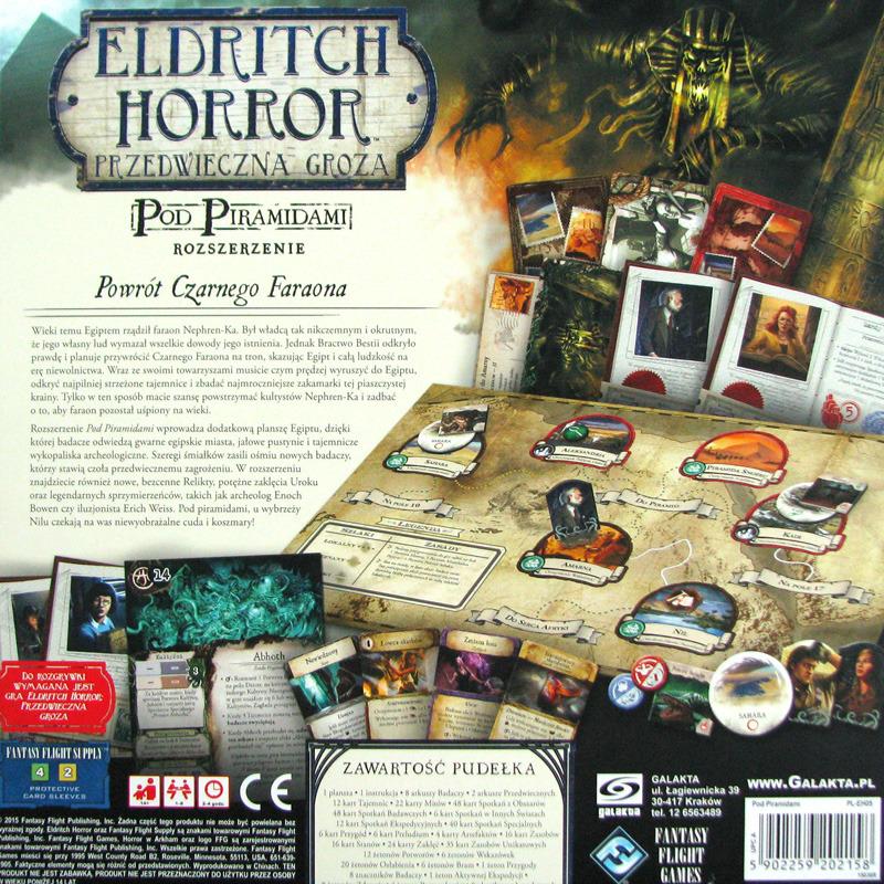Gra Eldritch Horror: Pod Piramidami