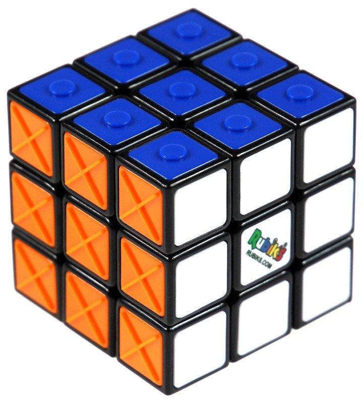 kostka Rubika z oznaczeniami dla niewidomych