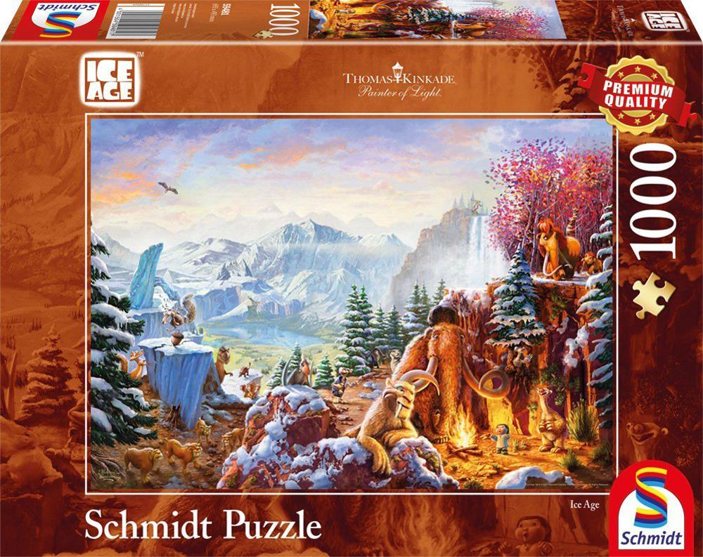 06f225dcb104e6 PQ Puzzle 1000 el. THOMAS KINKADE Epoka lodowcowa (Disney) » sklep ...