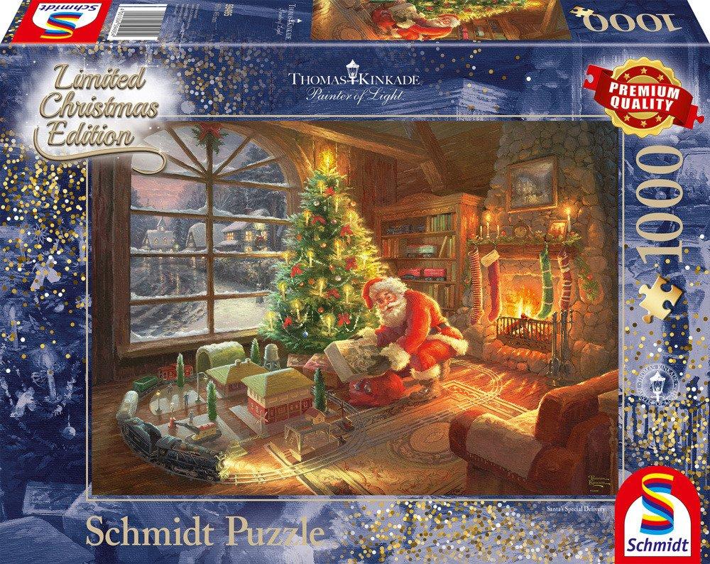 ace6c72c00169b ... PQ Puzzle 1000 el. THOMAS KINKADE Przesyłka od Świętego Mikołaja ...