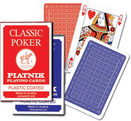 Karty 1321 Classic Poker red