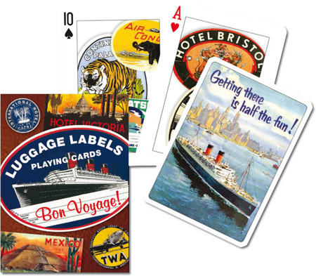Karty 1457 Luggage Labels