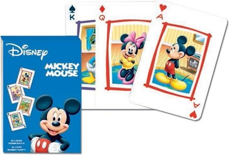 Karty 1590 Mickey Rummy Small