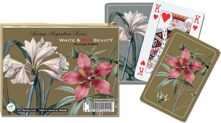Karty 2242 White & Red Beauty
