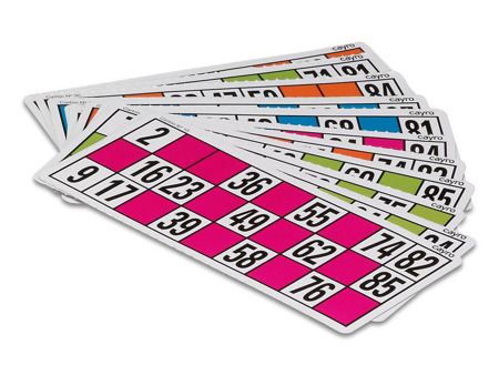 Karty do Bingo (Lotto) XXL (C-48 XXL) - 48 szt.