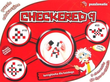 Łamigłówka Puzzlomatic - Checkered 9