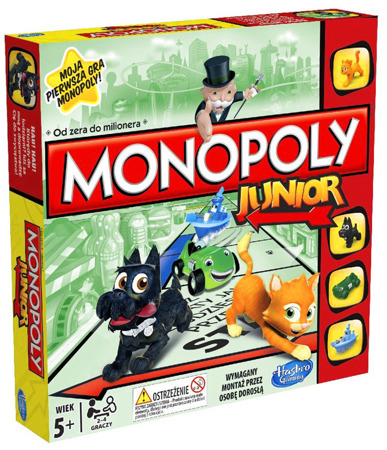 Monopoly Junior + Monopoly Junior (Kraina Lodu)