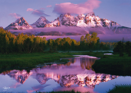 PQ Puzzle 1000 el. RODNEY LOUGH JR. Park Grand Teton / Wyoming