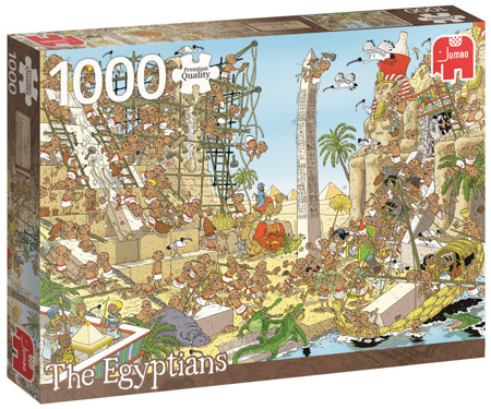 Puzzle 1000 el. PC PIECES OF HISTORY Egipcjanie
