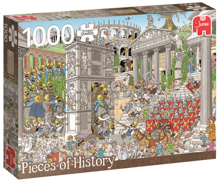Puzzle 1000 el. PC PIECES OF HISTORY Rzymianie
