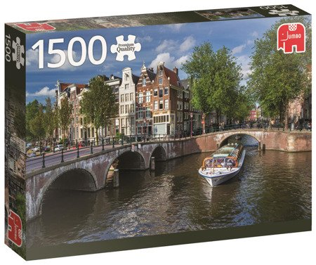 Puzzle 1500 el. PC Herengracht / Amsterdam