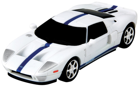 Puzzle 3D CARS - Ford GT - poziom 2/4