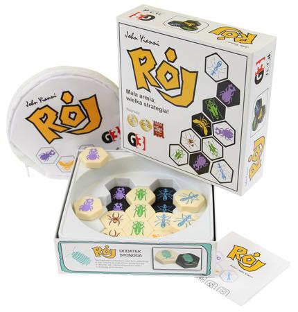 Gra Rój - zawartość pudełka