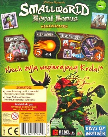 Small World: Royal Bonus (edycja polska)