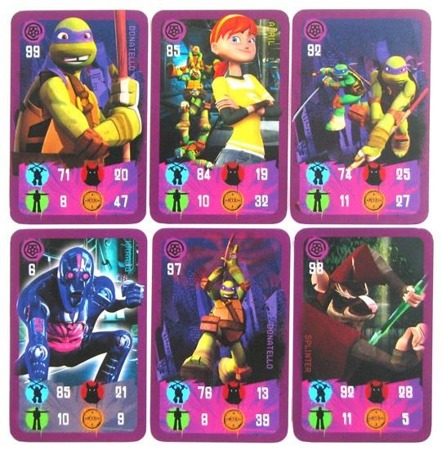 Turtles: Power Cards - Donatello (fioletowe)
